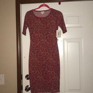 Lularoe Julia Dress size XXS New w/ Tags